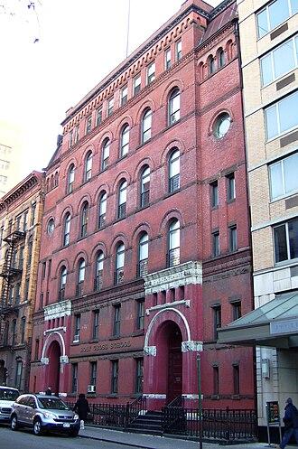 Holy Cross Church (Manhattan) - Former Holy Cross School, now De La Salle Academy