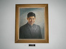 Horacio de la Costa portrait, Loyola School of Theology.jpg