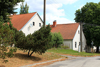 village in Jindřichův Hradec county of South Bohemian region