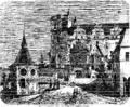 Horsovsky Tyn Palace 1868 Chalupa.png