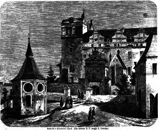 Horsovsky Tyn Palace 1868 Chalupa