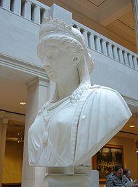 Buste van Zenobia