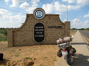 Hotazel - Hotazel gate