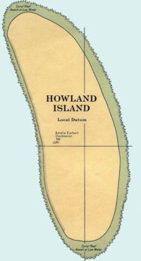 Howland Island On World Map.Atlas Of Howland Island Wikimedia Commons