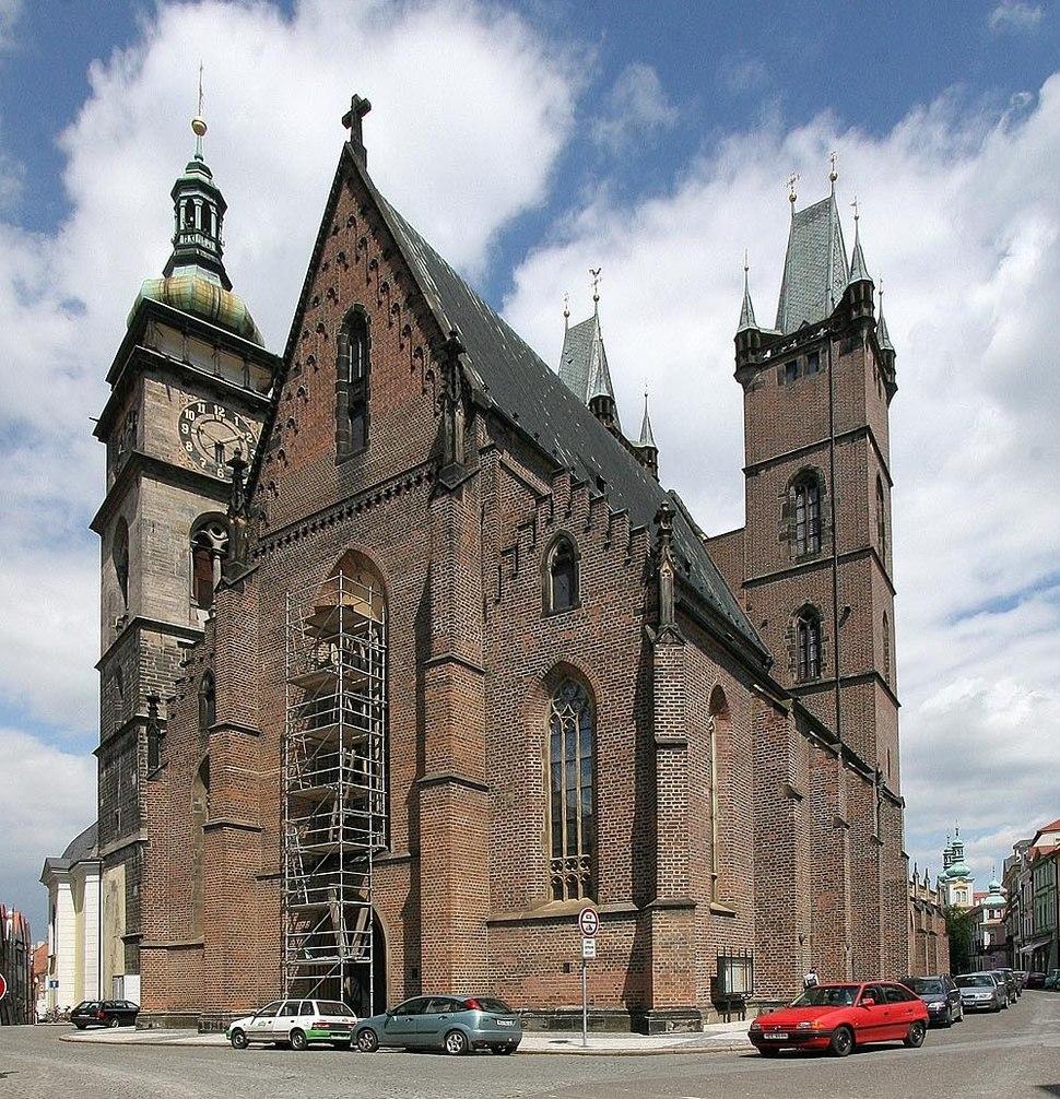 Hradec Králové - katedrála svatého Ducha
