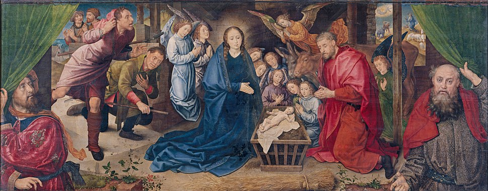 Hugo van der Goes - The Adoration of the Shepherds - Google Art Project