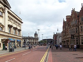 City centre, Kingston upon Hull