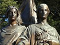 Humanity and Justice by Herbert Adams - Winchester, MA - DSC04209.JPG