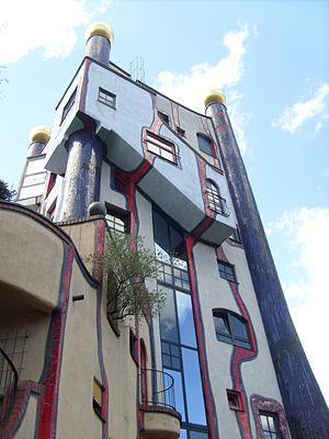Plochingen - The Hundertwasser house