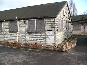 Gordon Welchman - Hut 6 at Bletchley Park in 2004