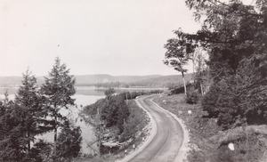 Ontario Highway 60 - Highway 60 through Algonquin Park circa 1950