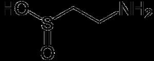 Hypotaurine - Image: Hypotaurine
