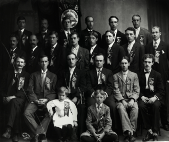 International Typographical Union - The International Brotherhood of Bookbinders in Salt Lake City, Utah in 1908.