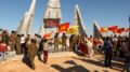 IFB members at Destan Temmuz burial in Kobanê.png