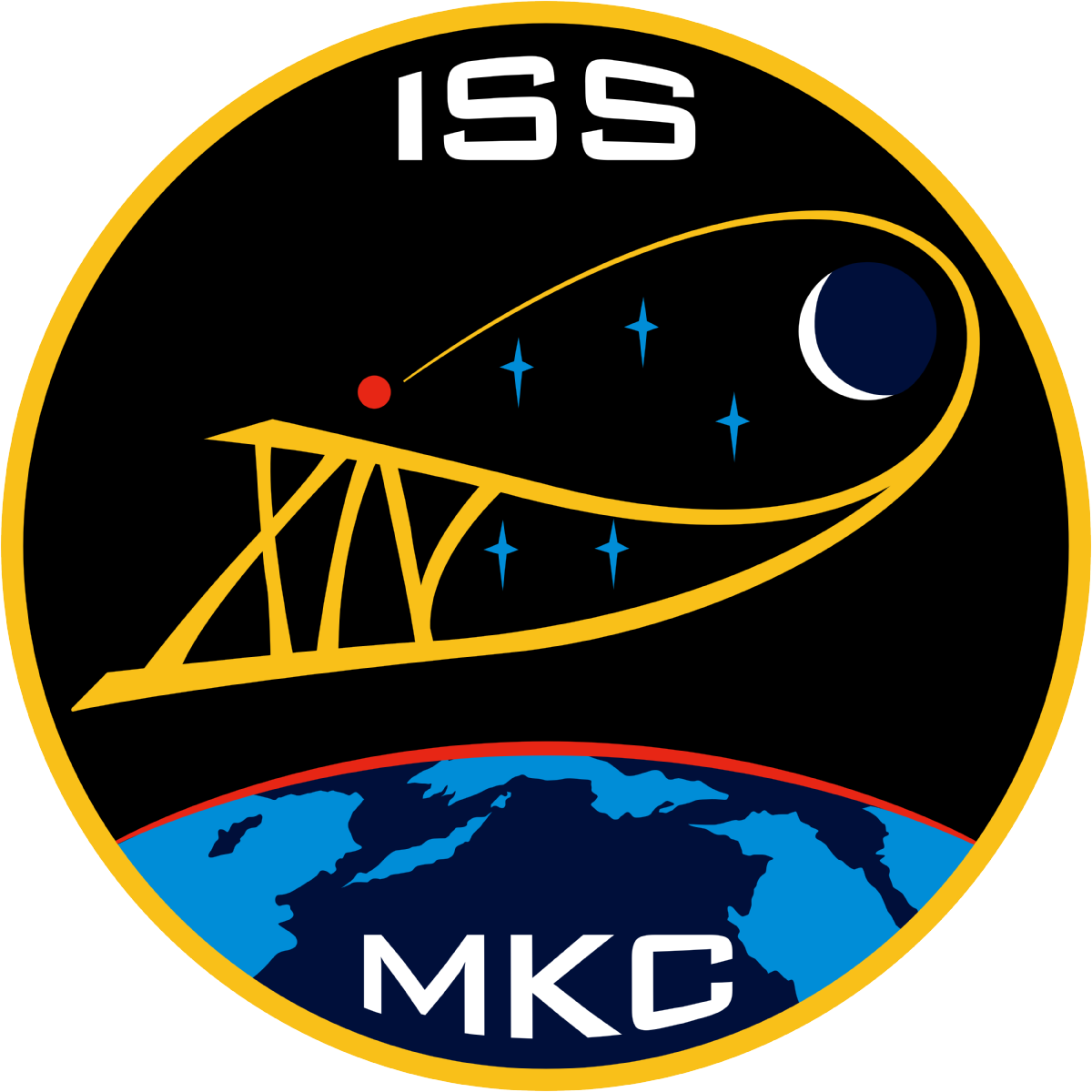 Animation assemblage ISS 1200px-ISS_Expedition_14_patch