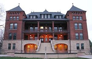 Iowa State University College of Liberal Arts & Sciences - Image: ISU Catt Hall