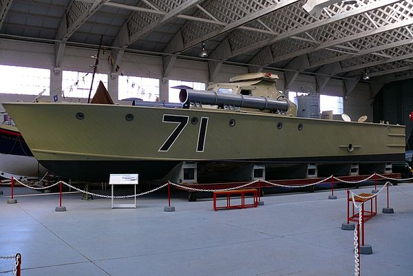 Vosper 73 Ft Motor Torpedo Boat