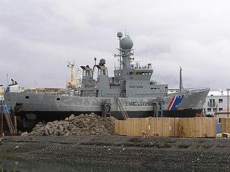 ICGV Ægir - Image: Icelandic warship