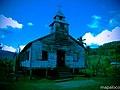 Iglesia Morava, en la Comunidad Indigena Mayagna, en Betania, Rosita, RAAN. Nic. - panoramio.jpg