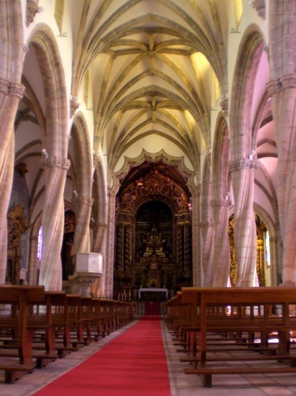 Iglesia de santa maria magdalena en olivenza