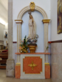 Igreja de Corroios, Nossa Senhora de Fátima 2018-04-17.png