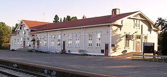 Iisalmi - Iisalmi railway station