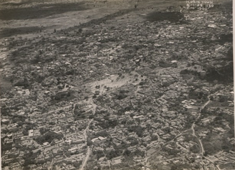 Ilorin - Aerial view of Ilorin in 1929