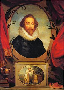 Imaginary portrait of Shakespeare by Angelica Kauffman
