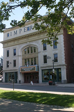 Front facade of the Imperial Theatre