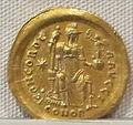 Impero d'occidente, onorio, emissione aurea, 393-423, 06.JPG