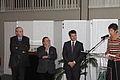 Inauguration Kanata 7 nov 2011 mairie Guéguen, préfet, chesnais-girard Liffré.jpg