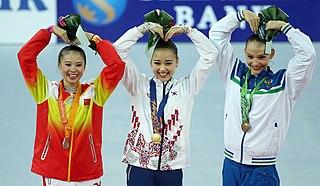 Deng Senyue Olympic gymnast
