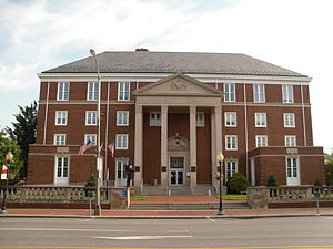 Indiana County, Pennsylvania - Image: Indiana County Courthouse