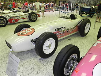 1956 Indianapolis 500 - Winning car of the 1956 Indianapolis 500