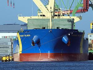 Ingwar Selmer - IMO 9500584 , close-up at Port of Amsterdam.JPG