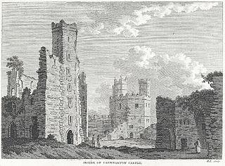 Inside of Caernarvon Castle