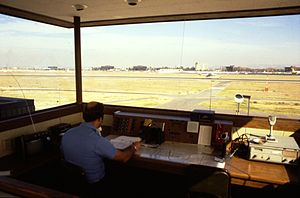 Inside tower at John Wayne Airport, circa 1980.jpg