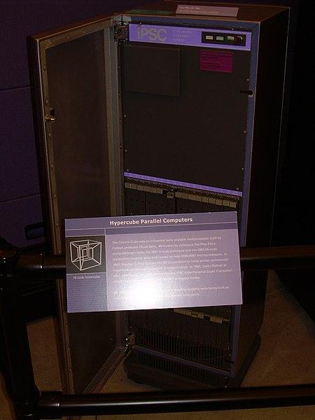 File:Intel iPSC-1 (1985) - Computer History Museum (2007-11-10 22.58.20 by Carlo Nardone).jpg