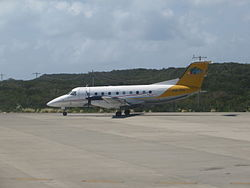InterCaribbean Airways E120 in alter Farbgebung