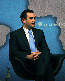Irakli Alasania, Minister of Defence, Georgia - Chatham House.jpg