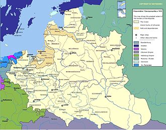 Voivodeships of Poland - Voivodeships of the Polish–Lithuanian Commonwealth in 1635