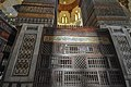 Islamic art calligraphy and woodwork - The second most beautiful mausoleum of the world (after the Taj Mahal) - The Mausoleum of Sultan Qalawun - The Qalawun complex (14609094608).jpg