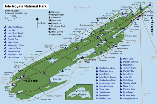 Beaver Island Map Pdf