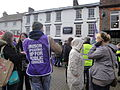 Isle of Wight public sector pensions strike in November 2011 12.JPG