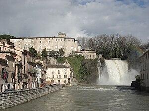 Liri - Liri falls in Isola del Liri