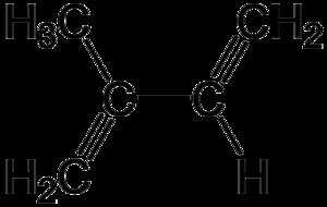 Isoprene - Image: Isoprene Structure