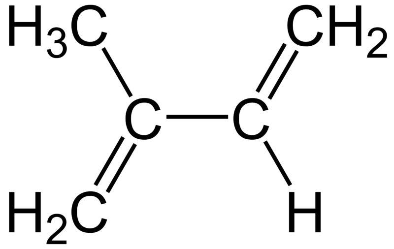 File:Isoprene-Structure.png
