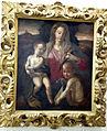 Italia, madonna col bambino e san giovannino (da santi di tito), xvi sec..jpg
