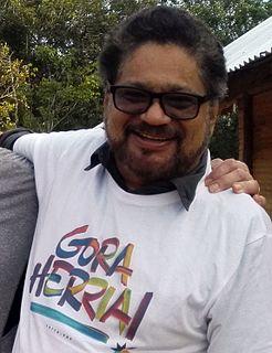 Iván Márquez Colombian guerilla leader