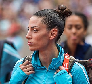 Ivana Španović Serbian long jumper